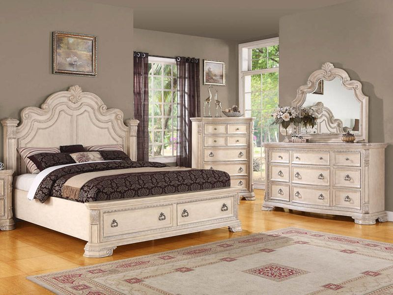 Cardi S Furniture 4pc Bedroom 2999 99 500473119 White