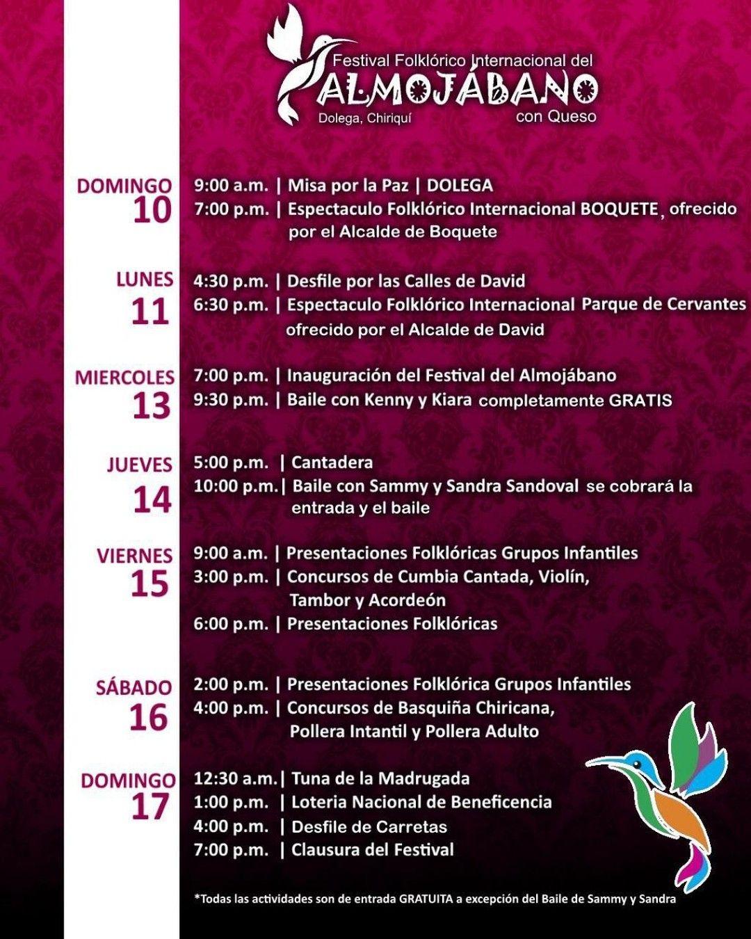 Este Domingo Inicio El Festival Folklorico Internacional De Almojabano Con Queso Evento Ideal Para Pasar Uno De Sus Dias En Familia Te Compartimos In 2020 Instagram