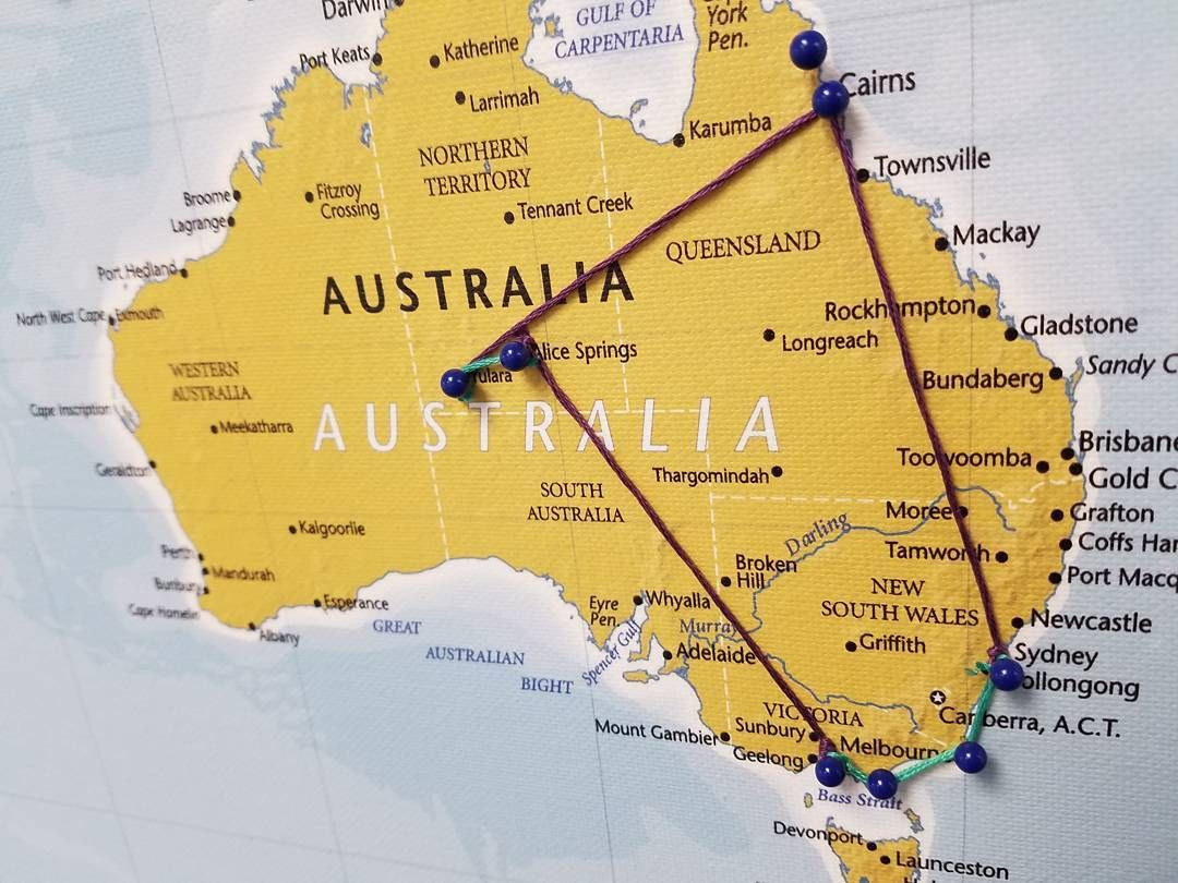 worldmap travel maps travel photos sydney melbourne 3 weeks australia red cairns
