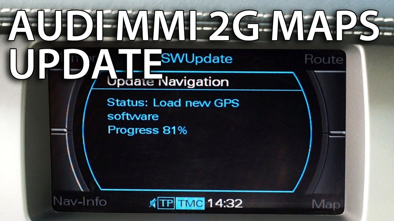 How To Update Audi Mmi 2g Maps Gps Navigation A4 A5 A6 A8 Q7 Audi Audi A5 Sportback Navigation Map