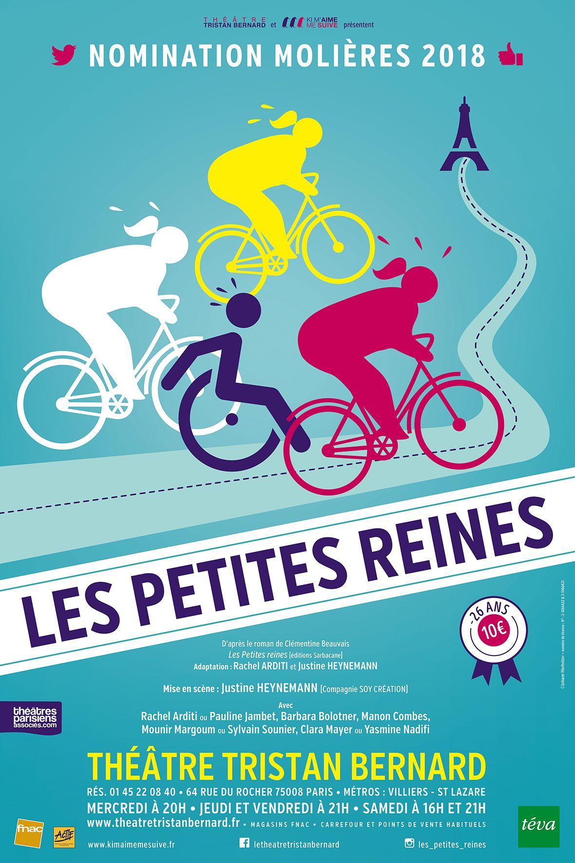 Les Petites Reines Mise En Scene Justine Heynemann Au Theatre Tristan Bernard Paris C Johann Hierholzer Petite Reine Mounir Reine