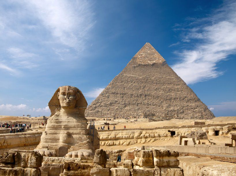 sfinx Egypten
