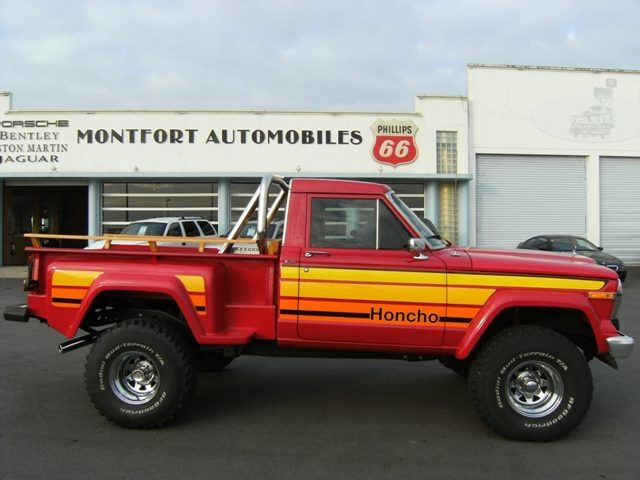 1980 Jeep J10 Honcho Archive Jeep Truck Jeep Pickup Trucks
