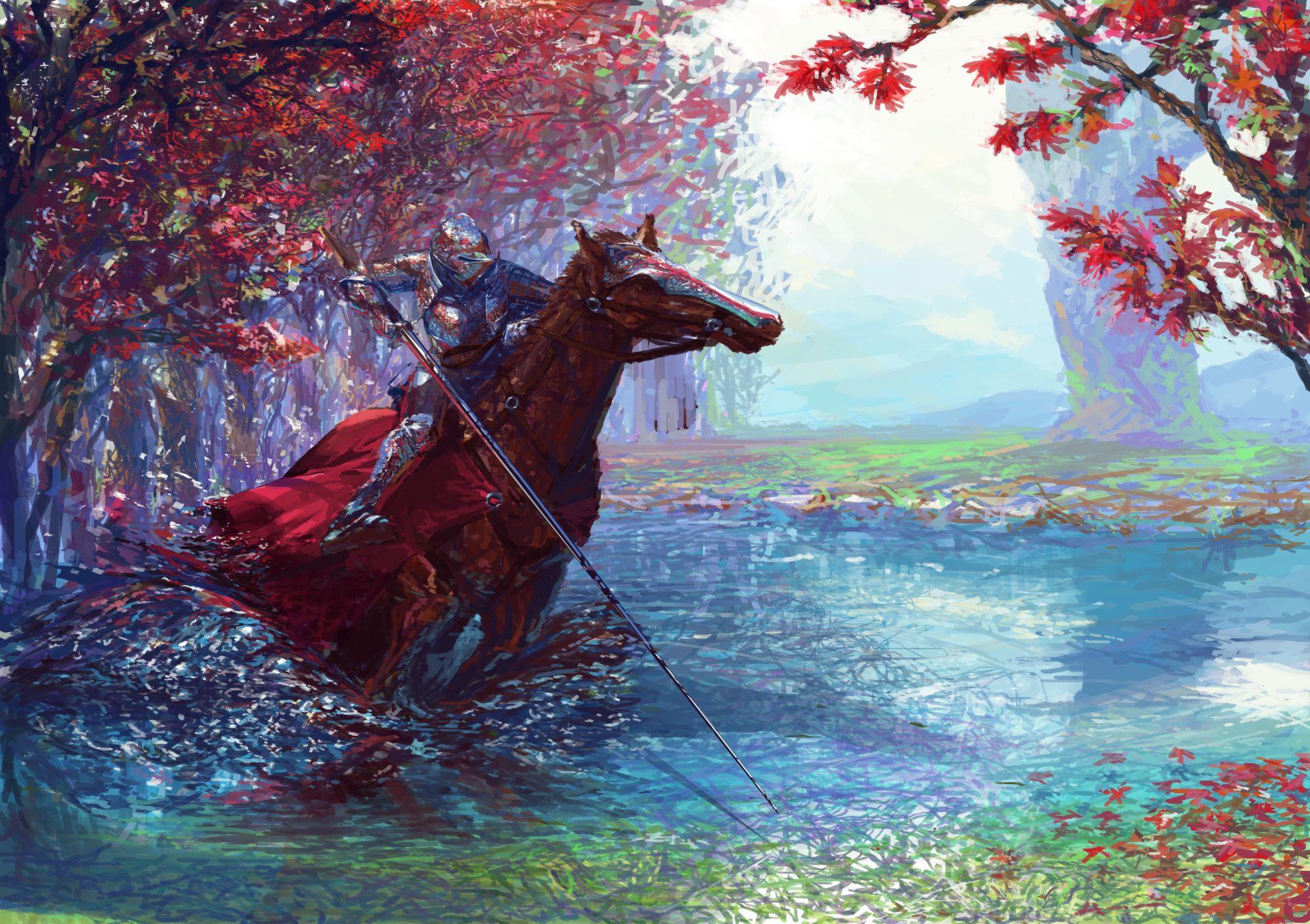Download Wallpaper Horse Water - 08edf4c26557ecf2f63e0183f17292c4  Collection_142279.jpg