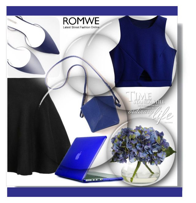 """""""Romwe"""" by din-fashion ❤ liked on Polyvore featuring Mode, Zara, Speck und Imago-A"""