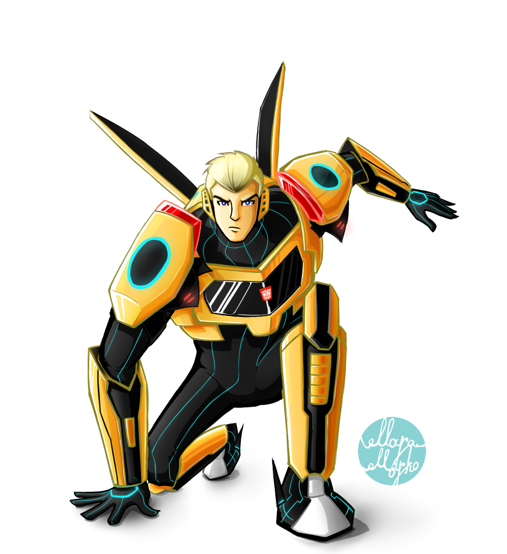 transformers robots in disguise bumblebee by maramarko