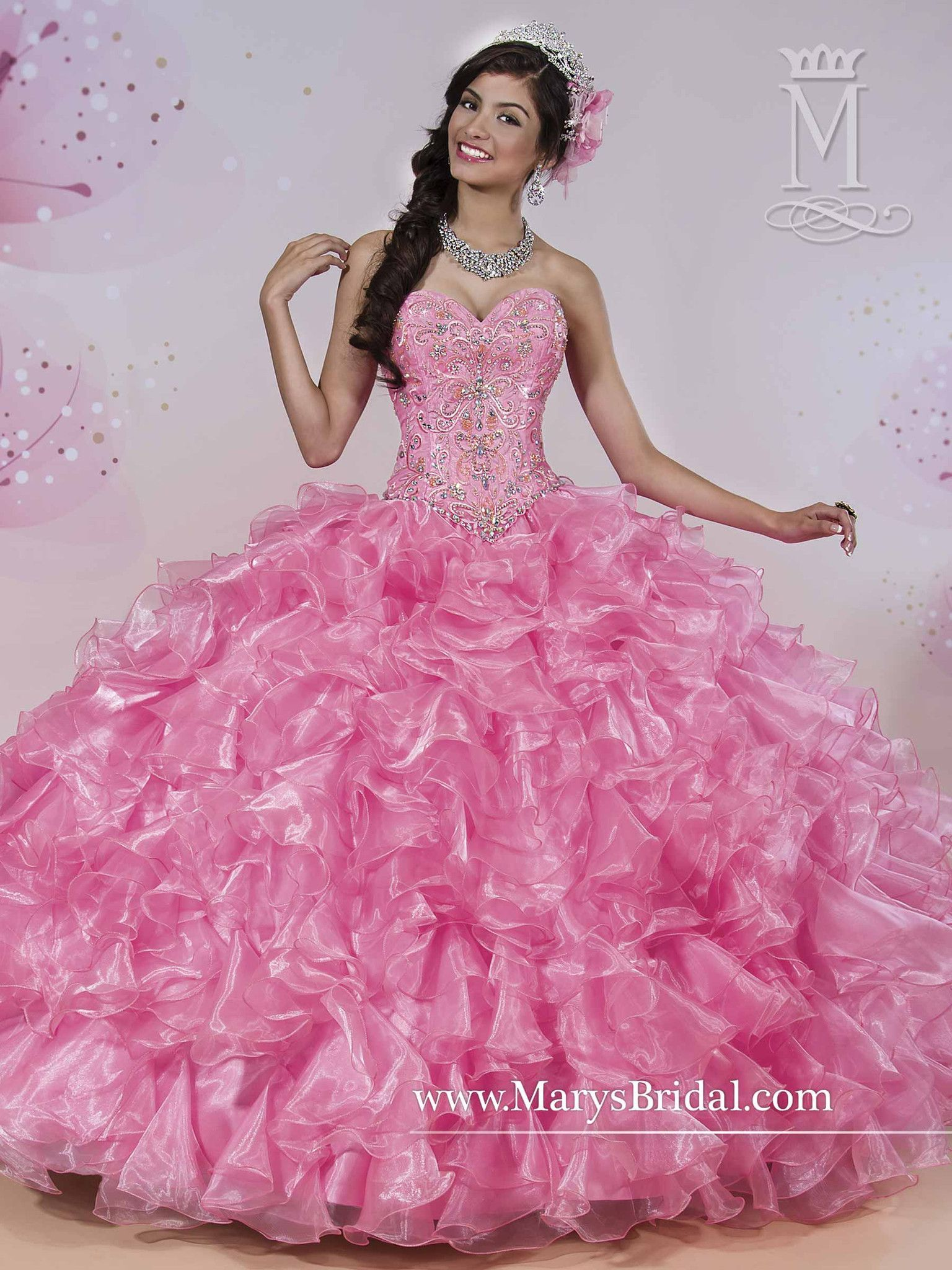 d5f71746897 Mary s Bridal Princess Collection Quinceanera Dress Style 4Q416