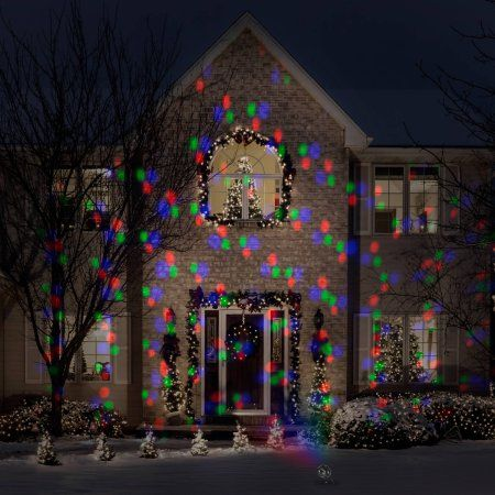 Lightshow Projection Points Of Light Deluxe With Remote 98  - Christmas Light Remote
