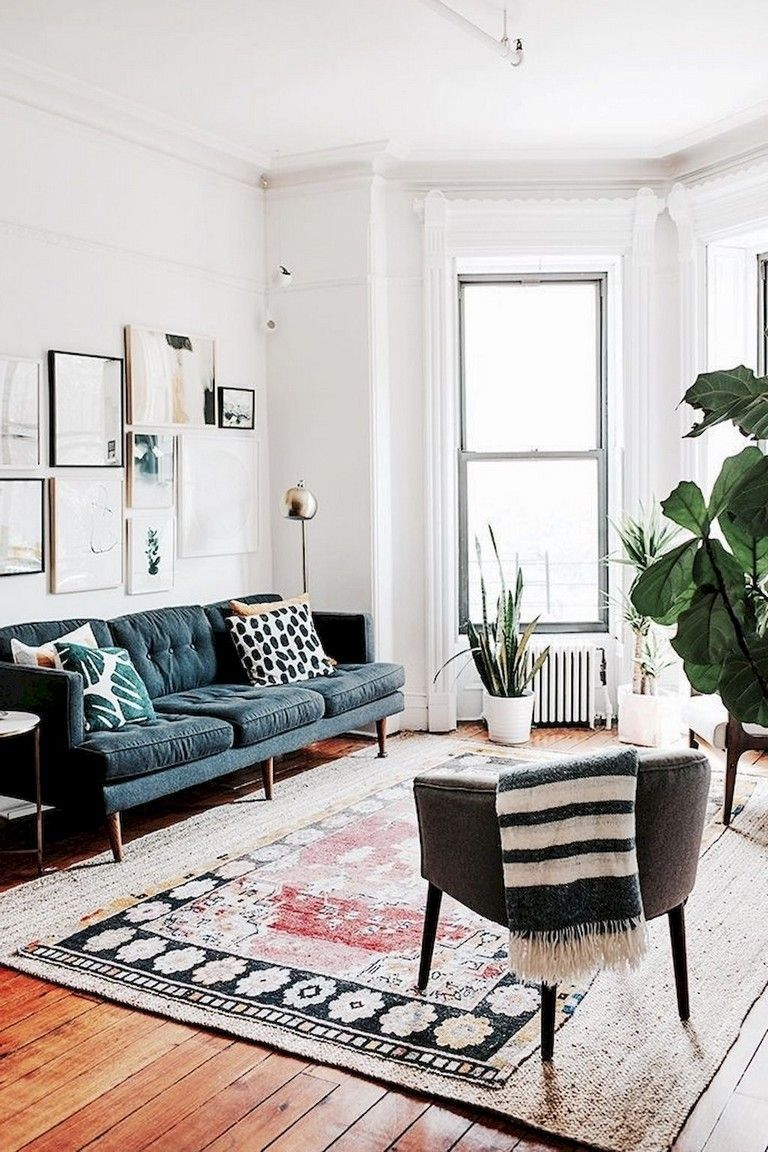 42 Apartment Living Room Decorating Modern Eclectic Living Room