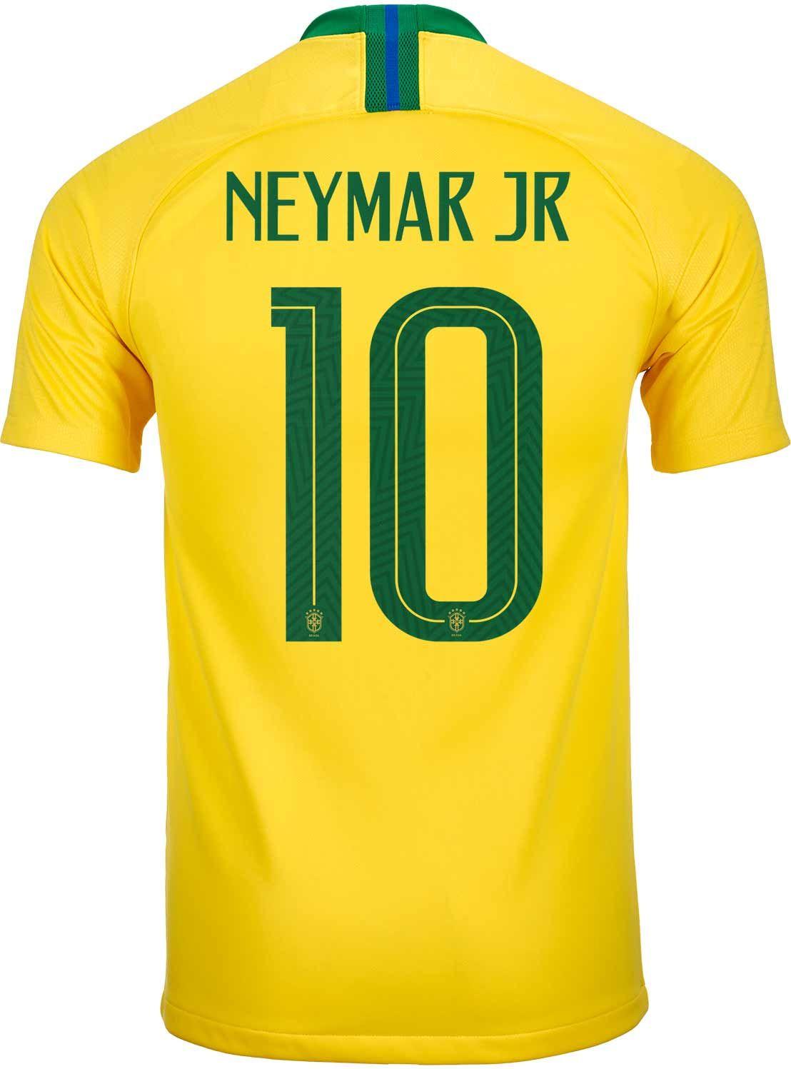 201819 nike neymar jr brazil home jersey neymar neymar