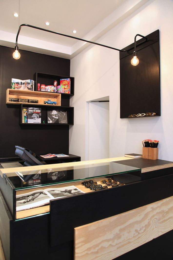 comptoir caisse boutique finger in the nose archi atelier premier etage salon flemalle. Black Bedroom Furniture Sets. Home Design Ideas