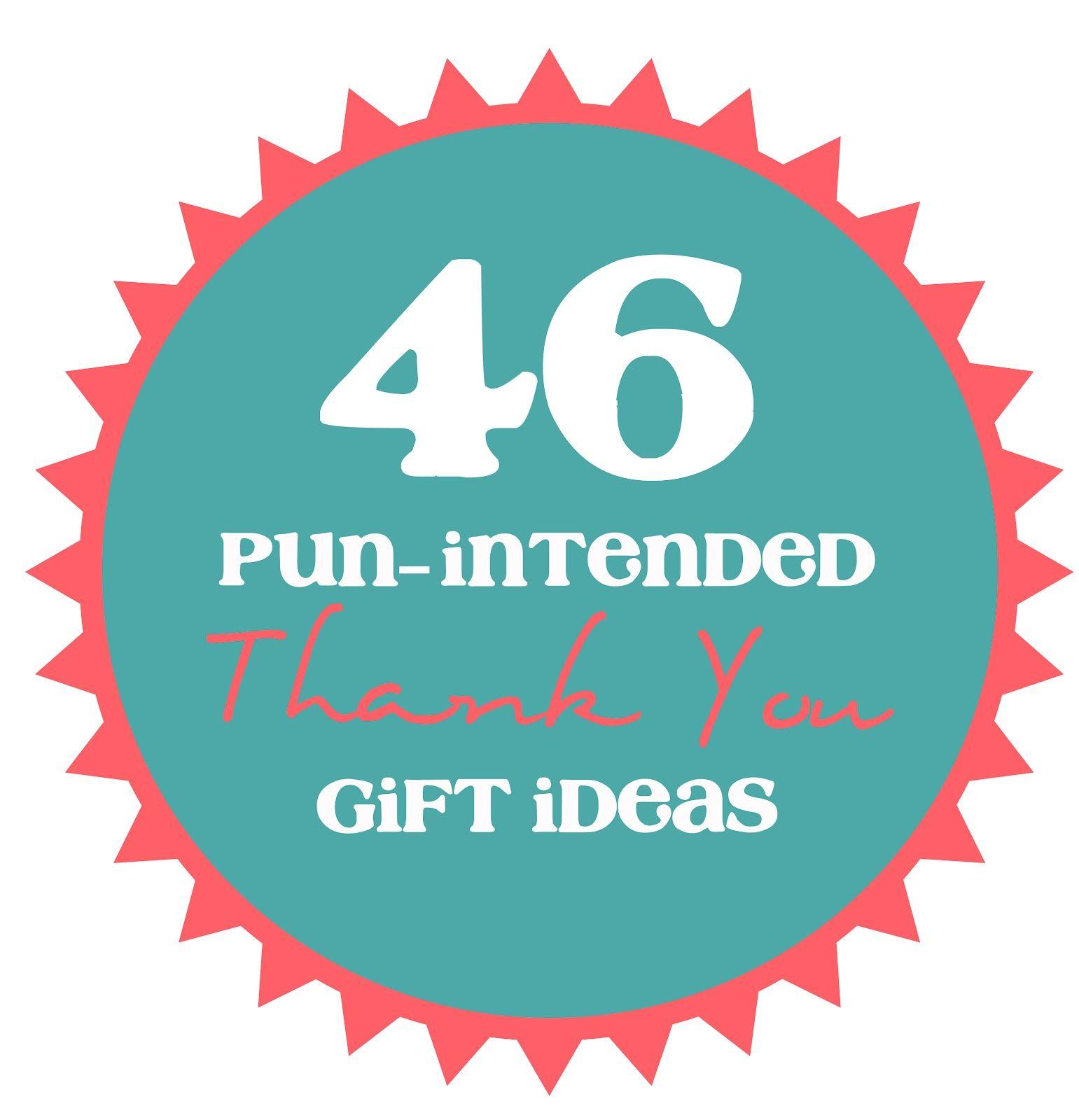 thank you ideas...
