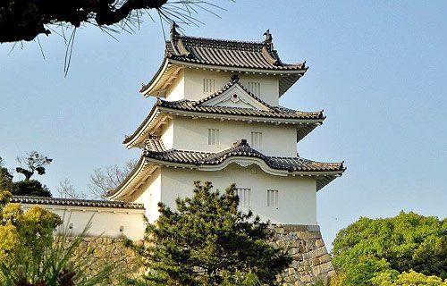 Akashi Castle, Akashi, Hyogo Prefecture, Japan.  - www.castlesandmanorhouses.com