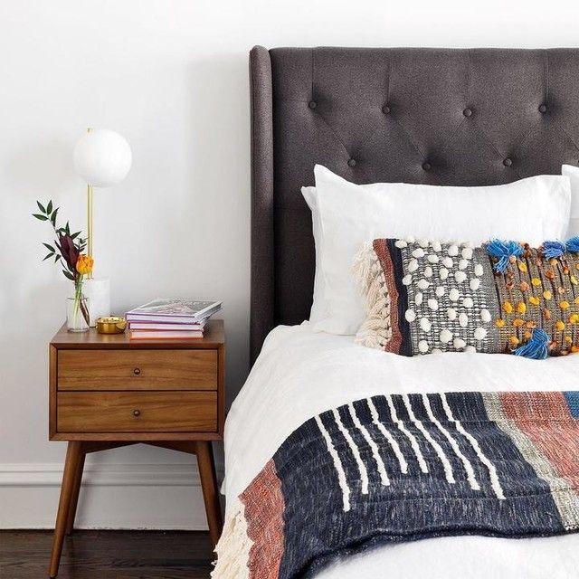 Best Mid Century Nightstand Acorn Modern Bedroom Design 400 x 300