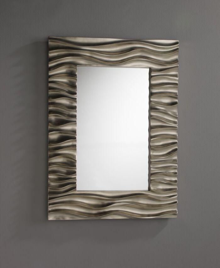 Espejos modernos mas de 250 espejo ondas decoraci n for Espejos de pared baratos online