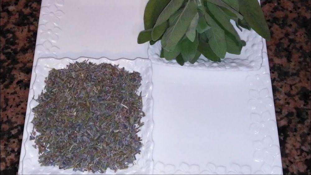 طريقة تحضير زيت السالمية او الميرامية وزيت الخزامىاو زيت اللافندر في البيت Youtube How To Dry Basil Herbs Basil