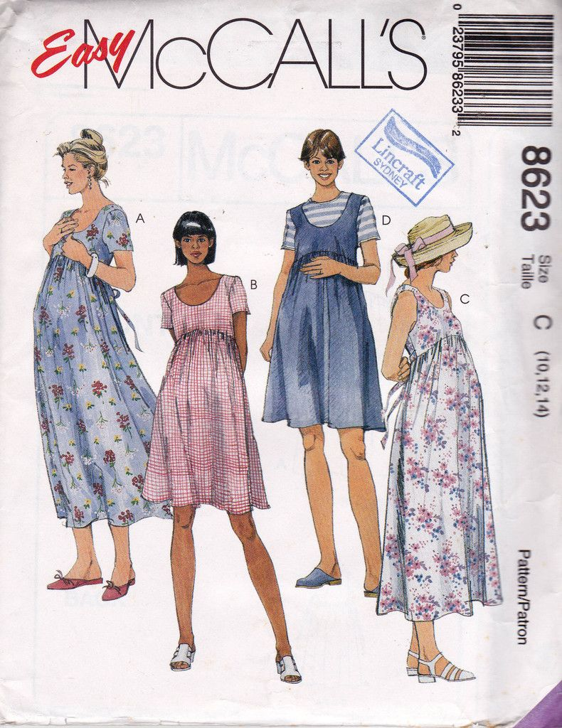 90s maternity dress pattern mccalls 8623 size 10 12 14 uncut 90s maternity dress pattern mccalls 8623 size 10 12 14 uncut factory folded ombrellifo Images