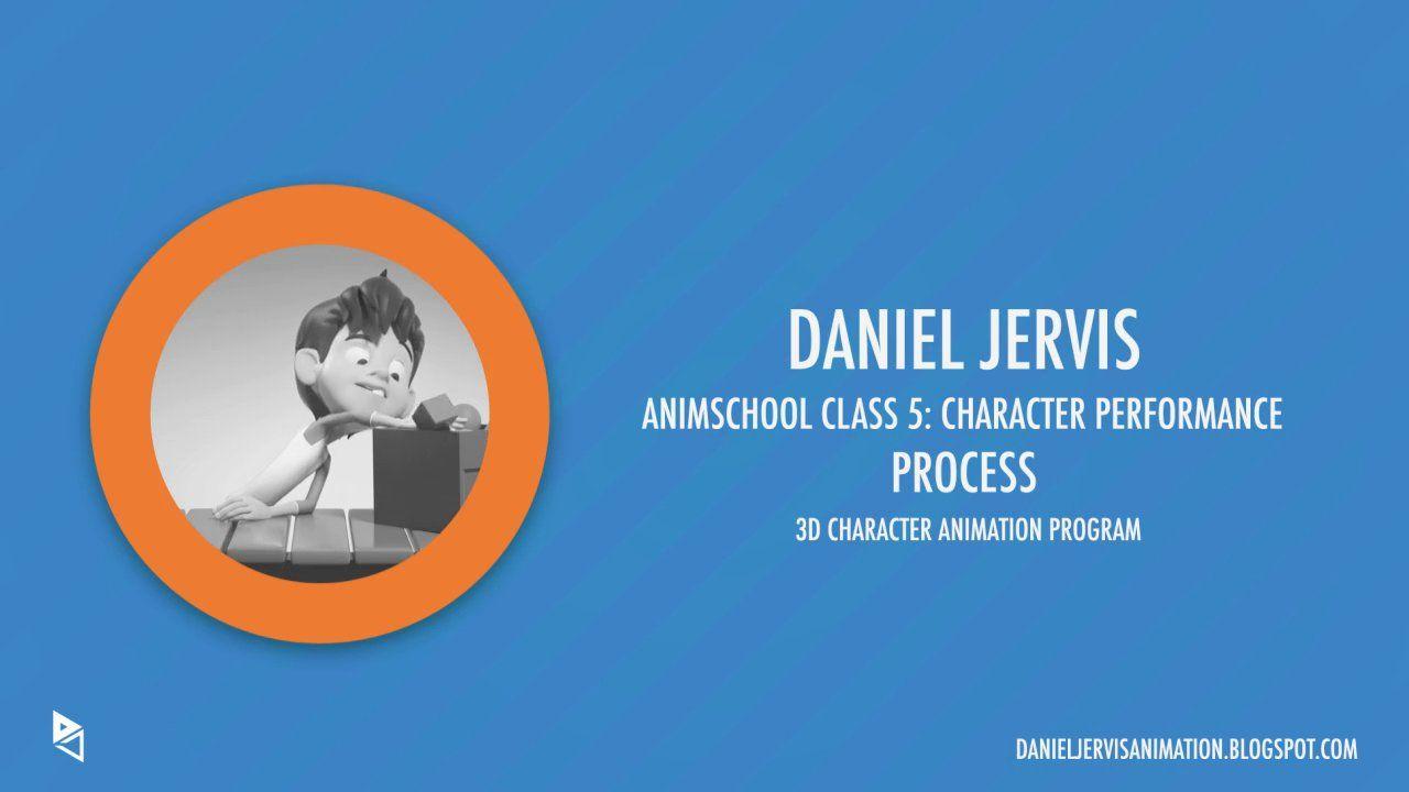 Animschool class 5 character performance process