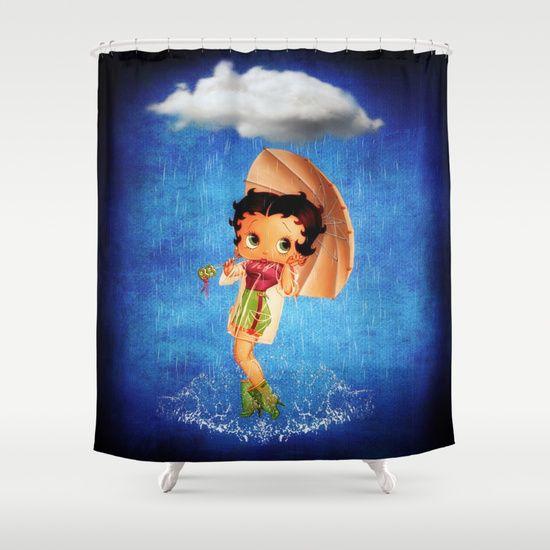 Betty Boop Shower Curtain Betty Boop Boop