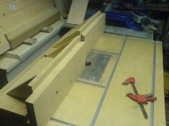 tisch f r die oberfr se bauanleitung zum selber bauen woodturner 39 s tools and workshop. Black Bedroom Furniture Sets. Home Design Ideas