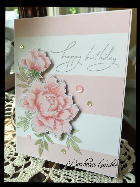 Flower Cards Floral Cards Cards Handmade