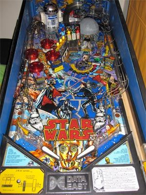 Star Wars Pinball Machine >> Star Wars Pinball Machine For Sale Data East 1992 Starwars Pinball