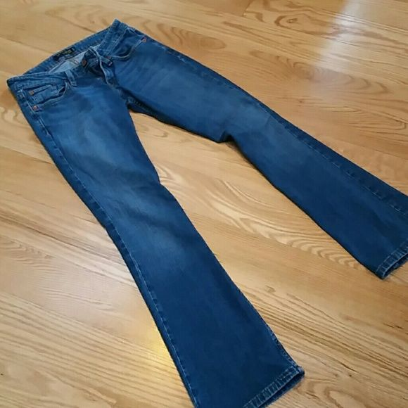 Jeans Levi's super low jeans size 3 med but fit like,a 2.  Good condition. Levi's Jeans Boot Cut