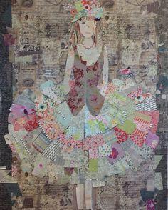 The Dress By Laura Heine Fiberworks-heine.com