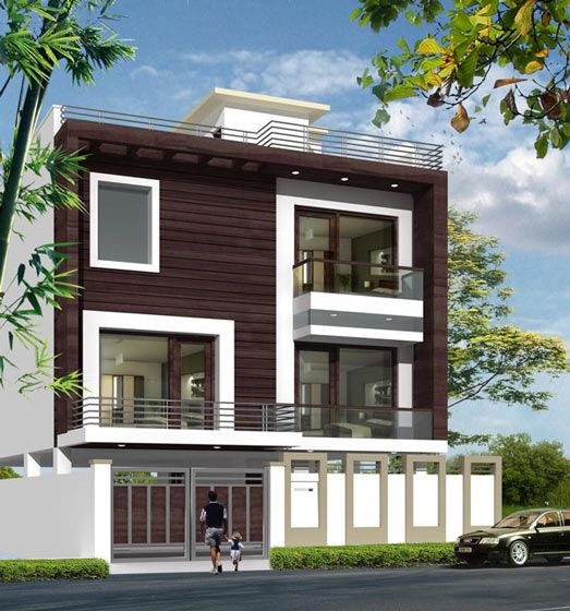 Modern Home Elevation Designs: Ultimate House Designs With House Plans: Featuring Indian