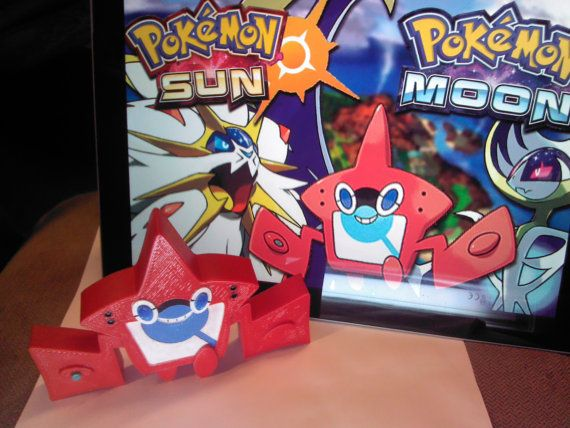 The Brand New Rotom Pokedex From The Upcoming Games Pokemon Sun