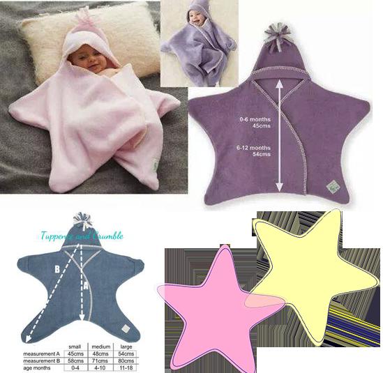 Estrellita de bebé. Patrón y Tutorial | kinder | Pinterest | Nähen ...