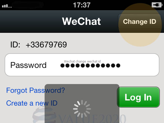 Wechat change wechat id   joiducelra   Android, App, Windows phone