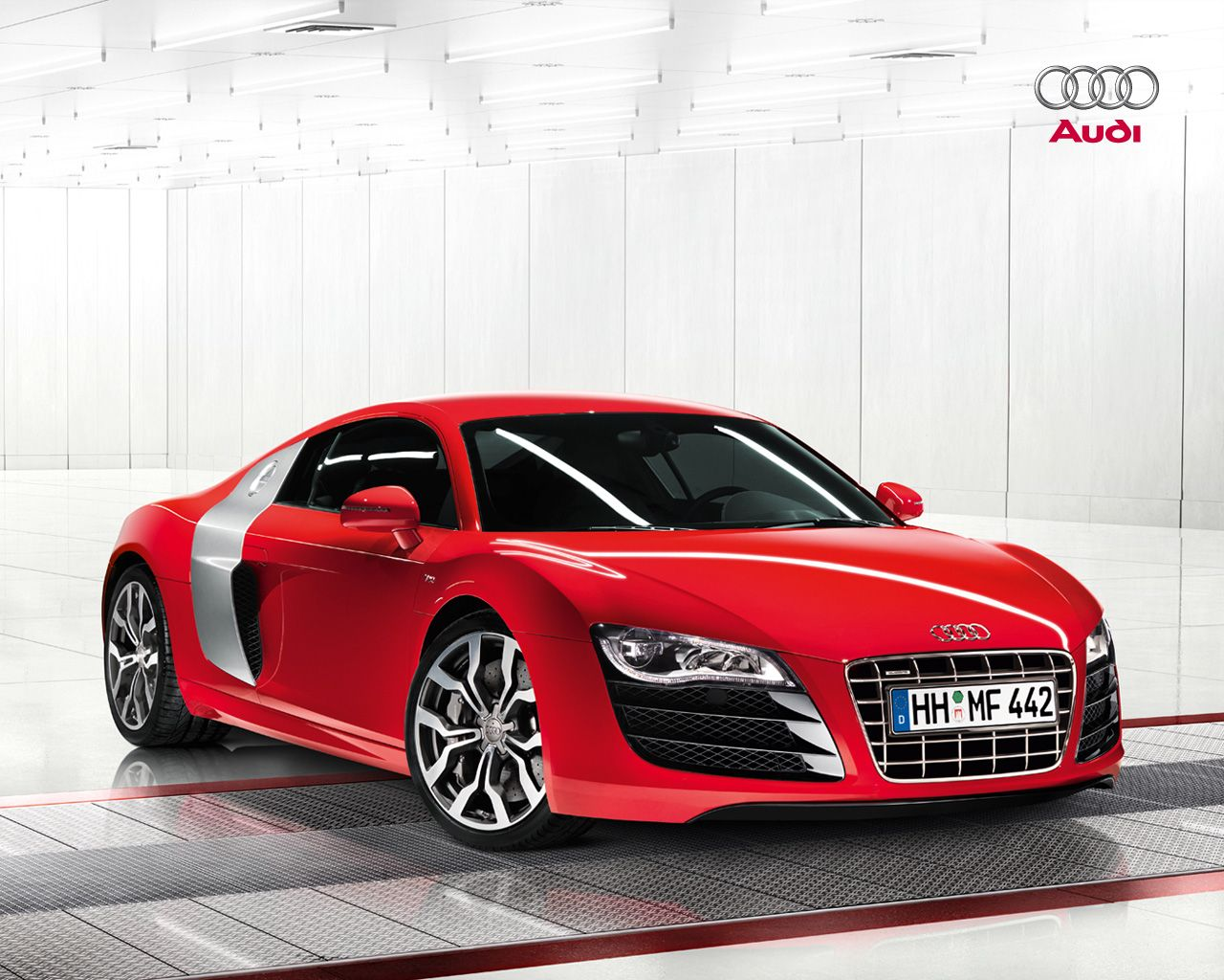 Bon Motorsport Of Audi R8 Great Car Concept » Audi R8 Red Car Picture