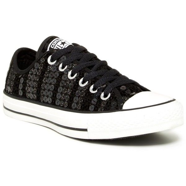 Converse Sequined Oxford Sneaker (Women