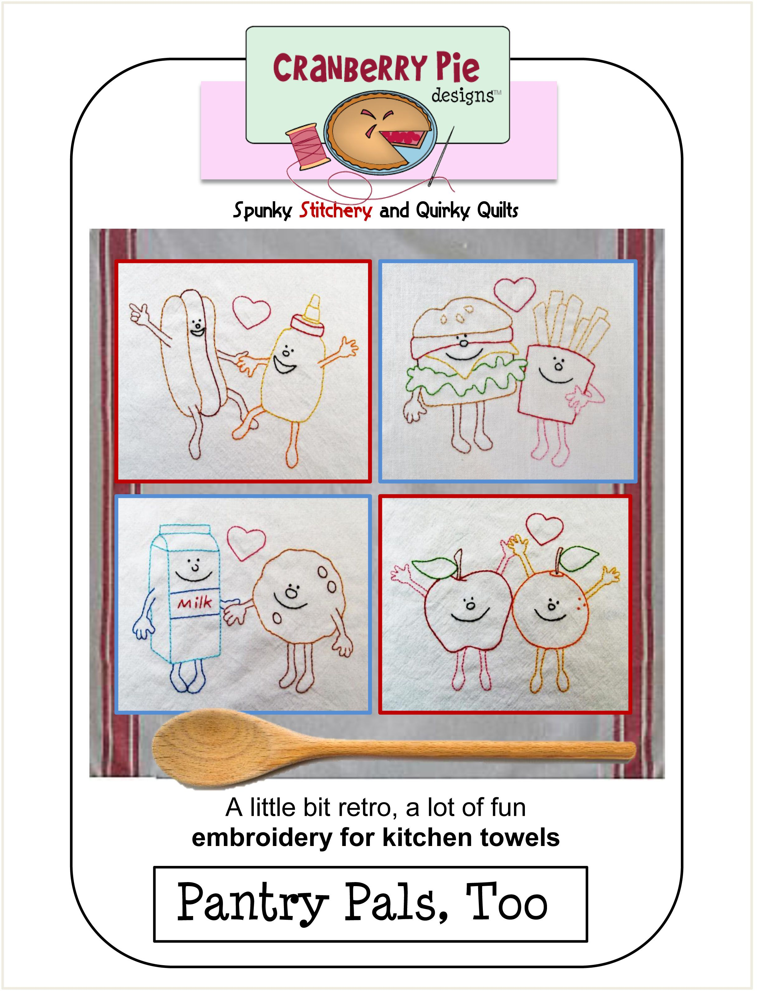 Pantry Pals, Too PDF Download Towel embroidery