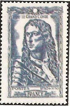 1944 - Celebrità del XVI secolo -  Le Grand Condè - 1,50 f + 3,50 f