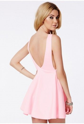 fecbccadca96d SheIn offers Pink Sleeveless Backless Romantic Loved Lolita Ruffle Skater  Dress   more to fit your fashionable needs.