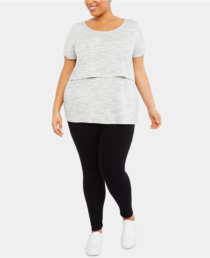 0c0efa8e7ba421 Motherhood Maternity Bounceback Plus Size Post-Pregnancy Leggings in ...