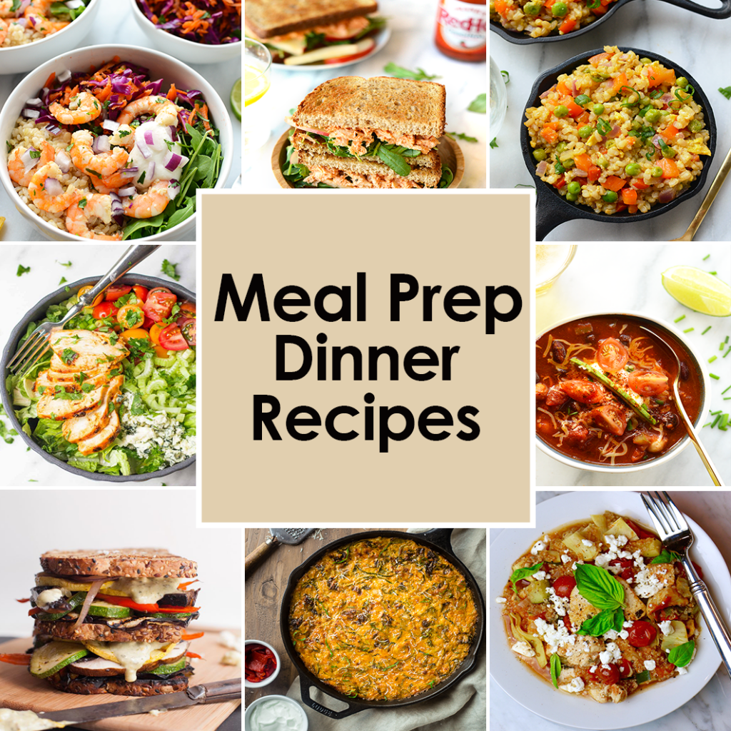Best Meal Prep Recipes: Dinners