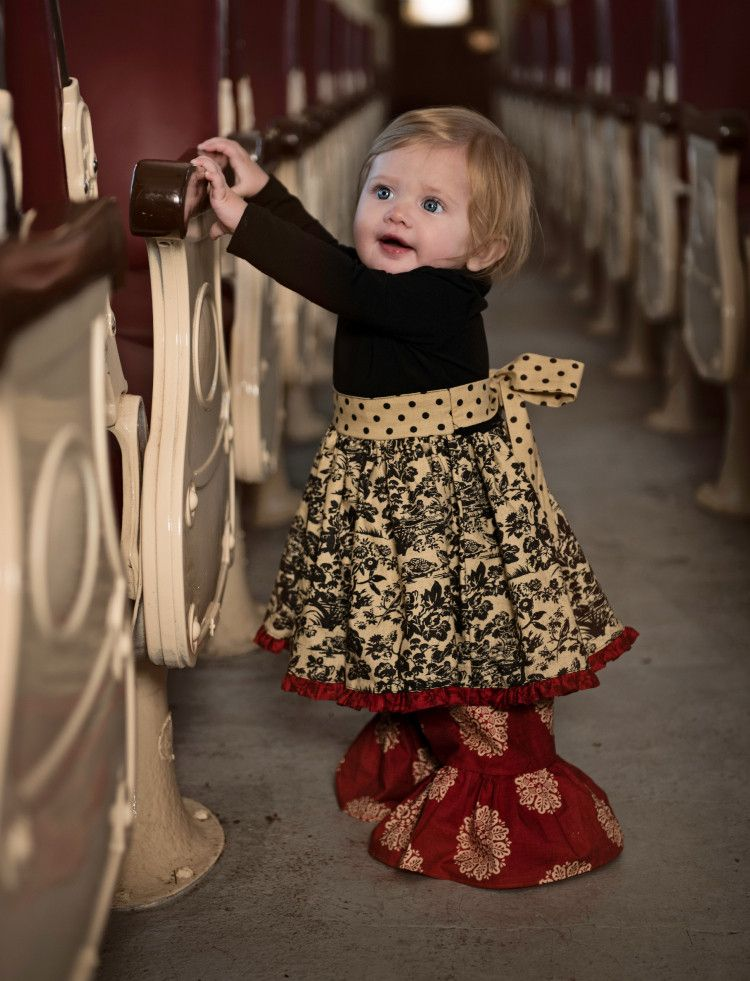 Persnickety Home for the Holidays Layette Cassie Dress – Posh Closet ...