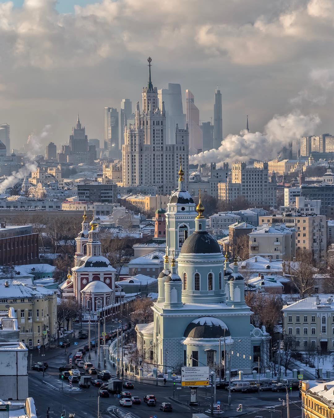 красивые фото в разных районах москвы твердыня, охранявшая западные