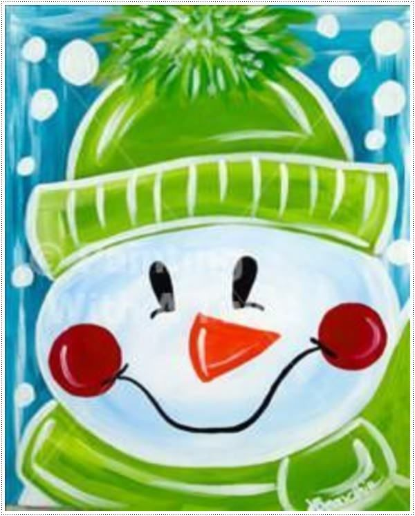 Christmas Paintings For Kids.40 Canvas Paintings For Kids Paint Night Christmas