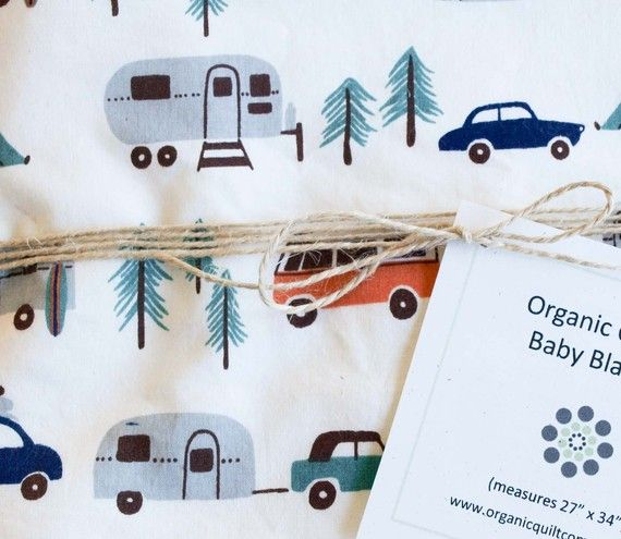 happy camping baby blanket. If I knew where to buy one ...