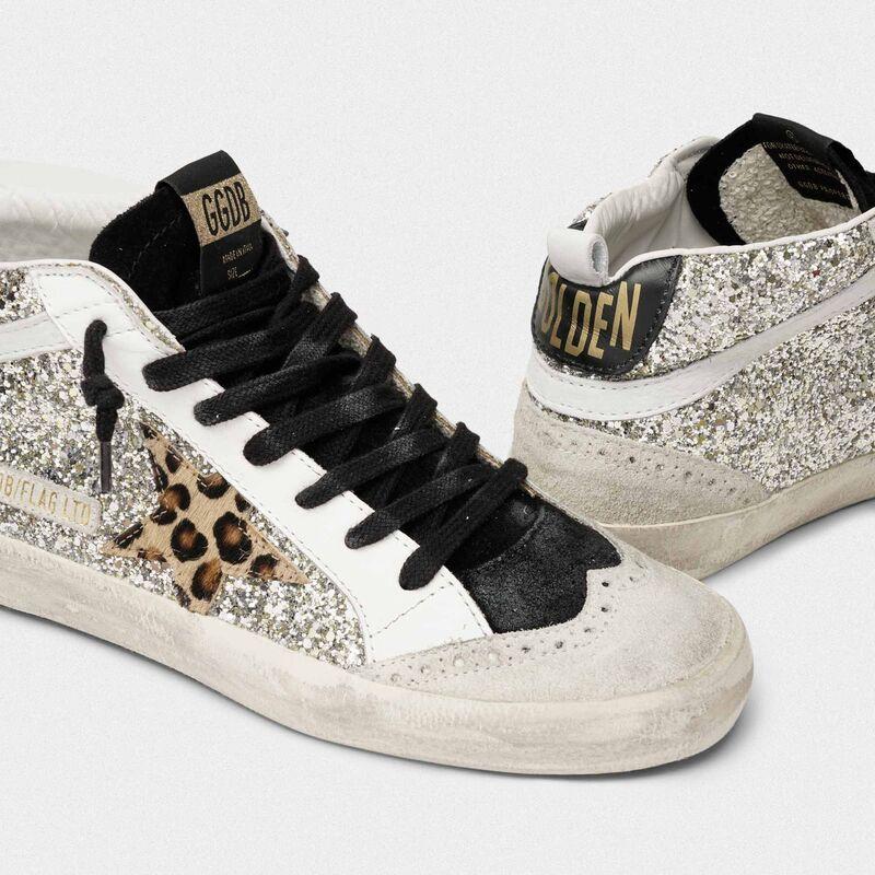 Mid Star Mid-Star sneakers in glitter