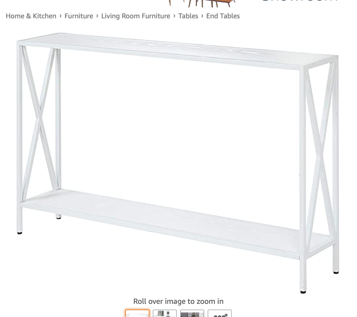 Convenience Concepts Tucson Console Table White In 2020 Console Table Convenience Concepts Mobile Home Decorating