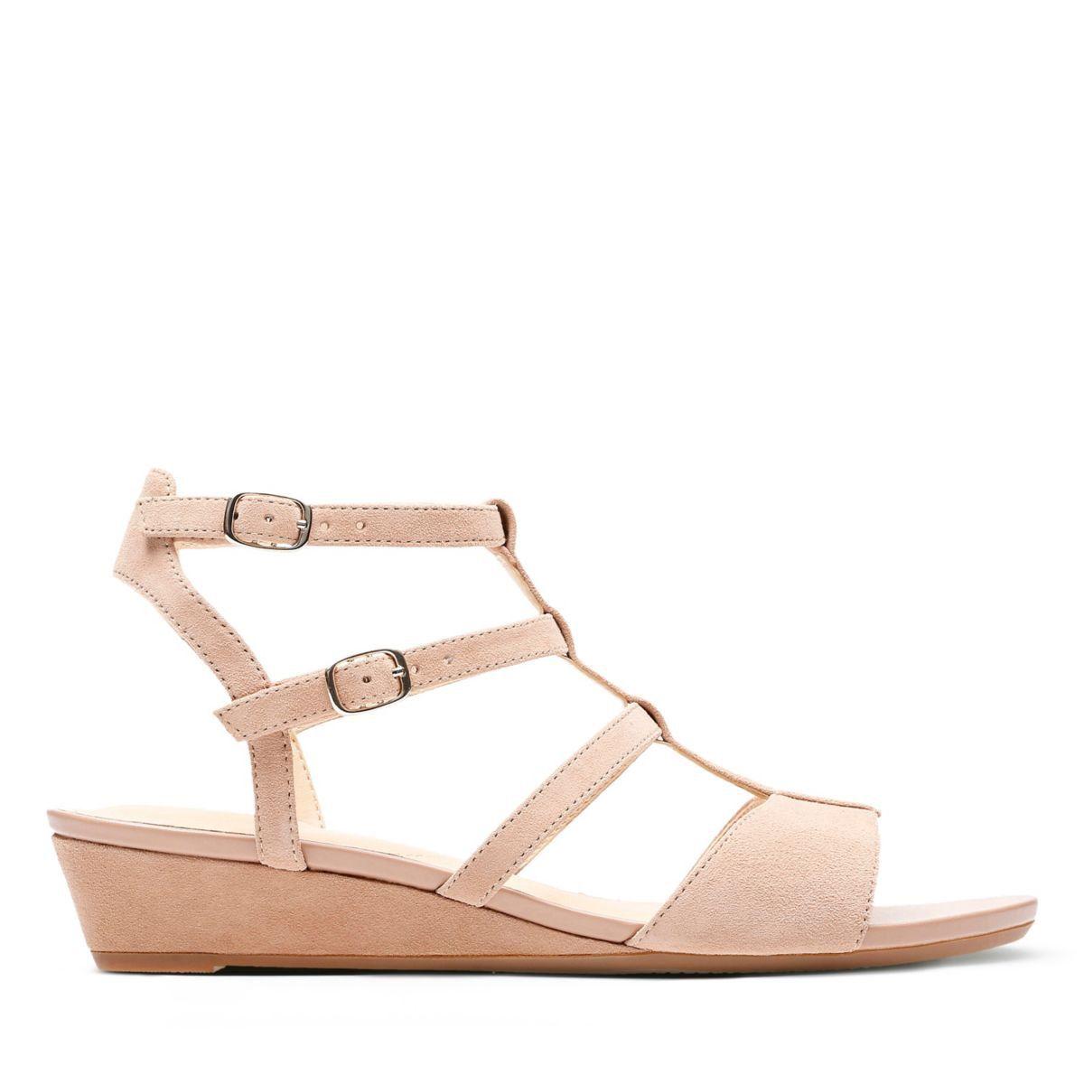 946ee1a03 Clarks Parram Spice - Womens Sandals Beige Suede 8.5