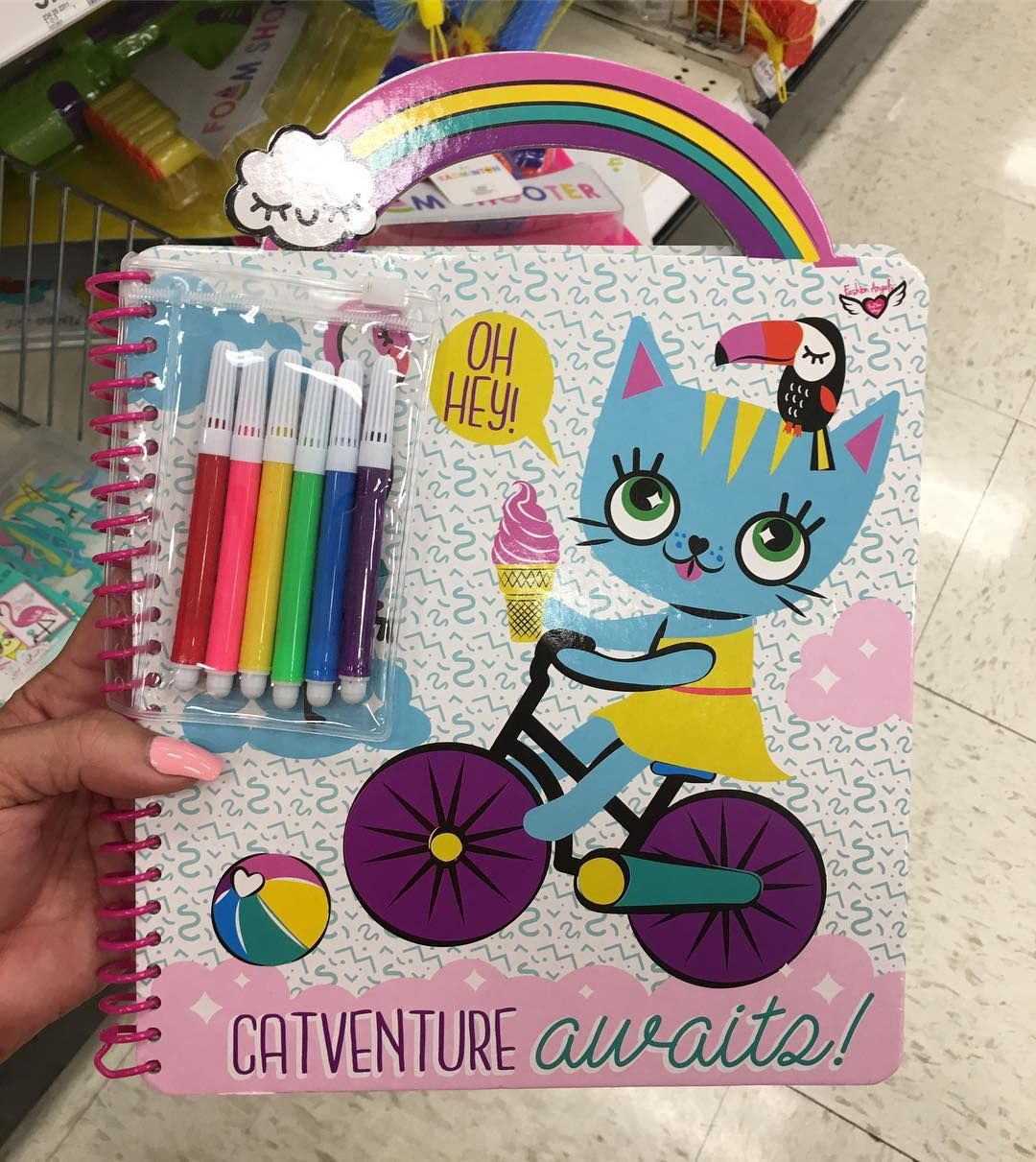 Target Pursuit On Instagram Coloring Book With Markers 3 At The Target Dollar Spot Coloringbook T Frozen Coloring Pages Coloring Books Target Dollar Spot