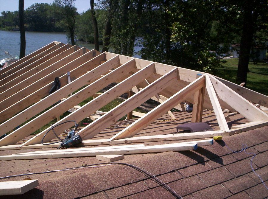Fine How To Frame A Patio Cover Workshop Pinterest