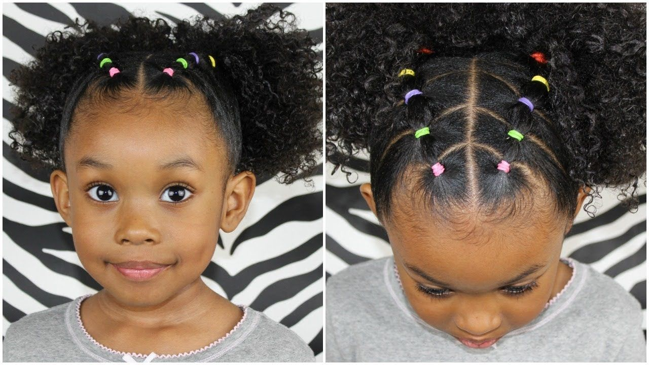 Pigtails With Style Youtube Curly Girl Hairstyles Toddler