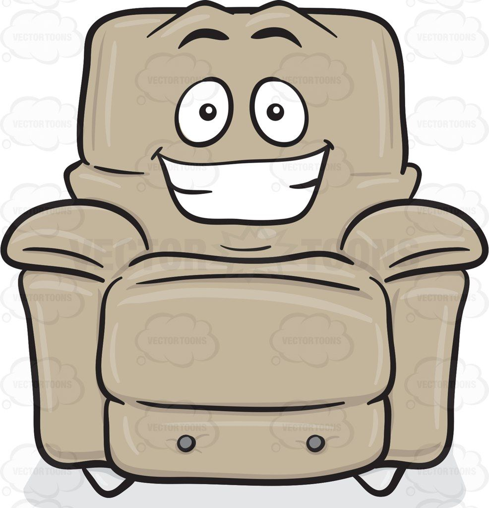 Stuffed Chair Grinning Widely Emoji Chair Movie Chairs Arm Rest